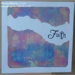 Faith in Leaf Swirl