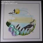 Sweet Lilac Birds