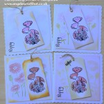 Poppies in Bloom Tag
