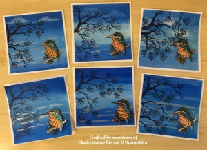 Kingfisher - Aquatints